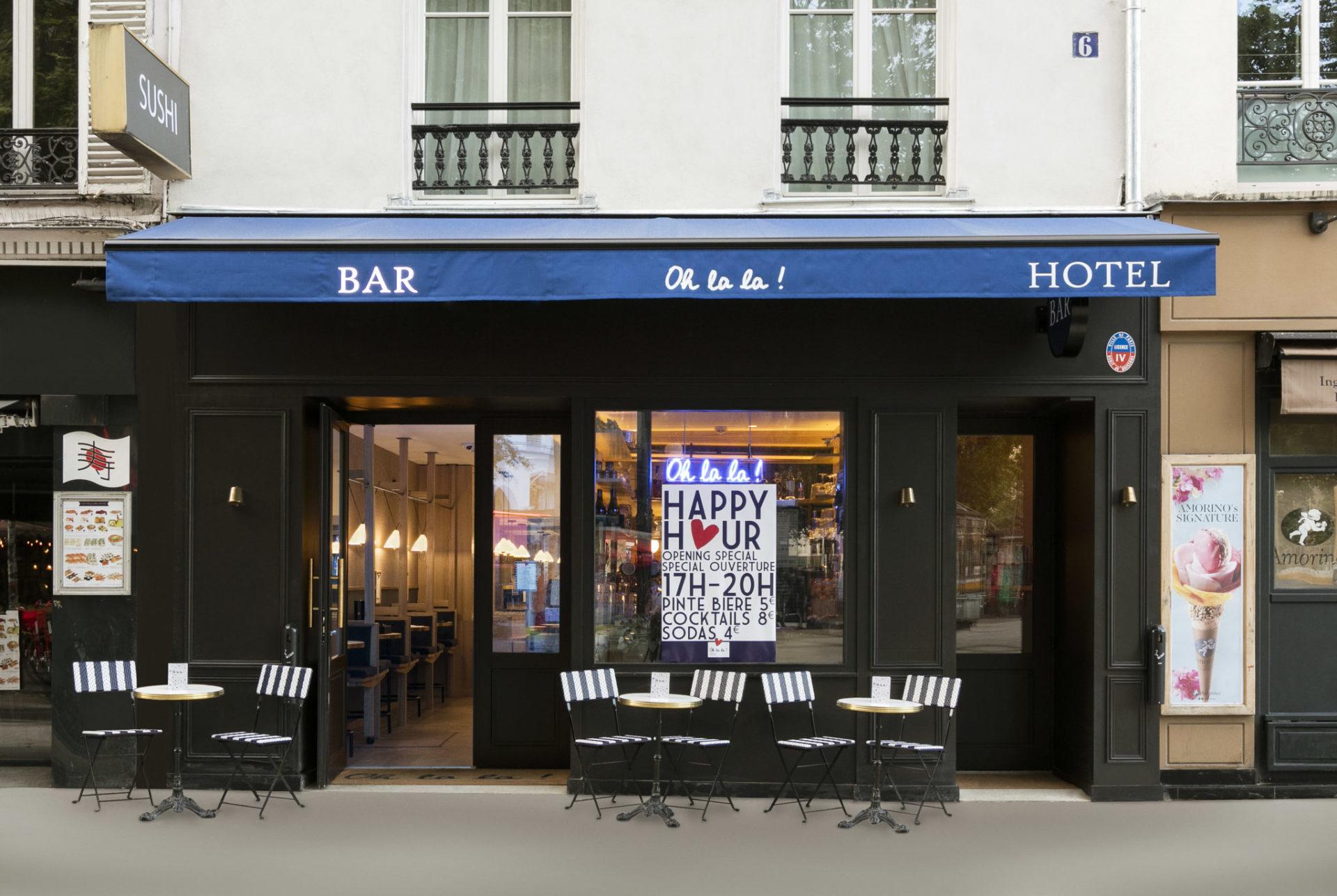 Oh la la ! Hotel Bar