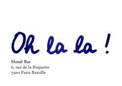 ingenierie alpine conseil chamonix oh la la logo avec adresse
